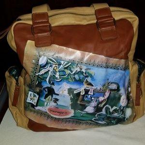 NWOT Very Vollbrach tote zippered tote bag